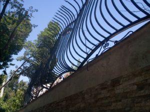 نرده حفاظ دیوار