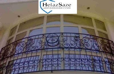 حفاظ نرده پنجره فرفورژه