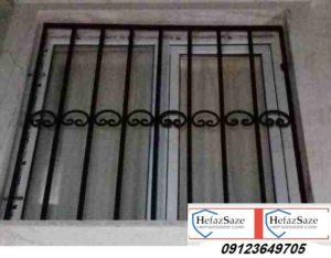 حفاظ پنجره ساده و فرفورژه