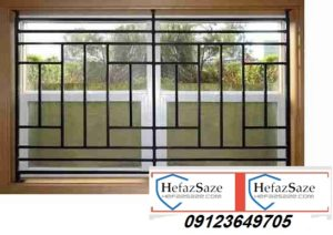 حفاظ پنجره با قوطی ساده