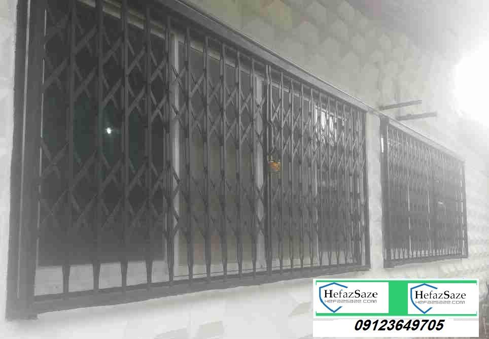 حفاظ پنجره ریلی فرفورژه