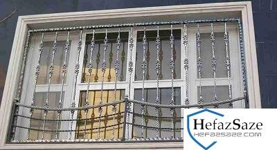 گارد محافظ پنجره |قیمت نصب و ساخت آهنگری