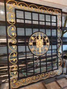 حفاظ گارد فلزی نردهپنجره ساختمان