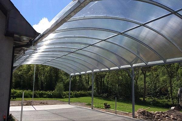 سقف ایرانیتی پلی کربنات