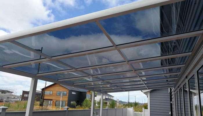 سقف پلی کربنات نورگیر