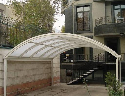 سقف پلی کربنات