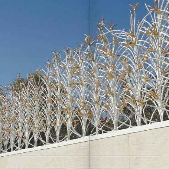 حفاظ نرده دیوار
